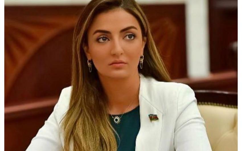 """Könül Nurullayeva: """"Azərbaycan Ordusu öz tarixi vəzifəsini layiqincə yerinə yetirir"""""""