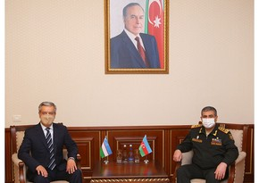 Azerbaijan, Uzbekistan discuss issues of military cooperation