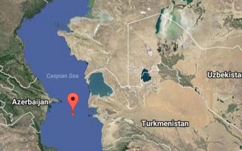 Xəzərin Azərbaycan sektorunda zəlzələ olub