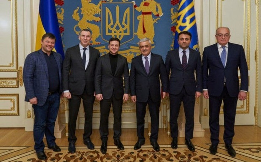 Ukrayna prezidenti: SOCAR ölkəmizin enerji infrastrukturuna böyük töhfələr verib