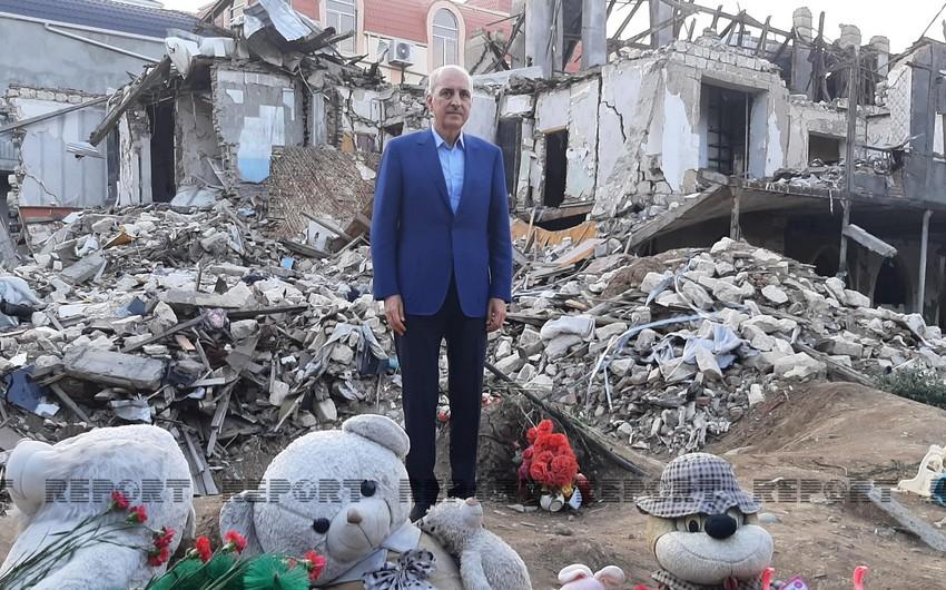 AKP Sədrinin müavini: Ermənilərin Gəncəni raket atəşinə tutması alçaqlıqdır