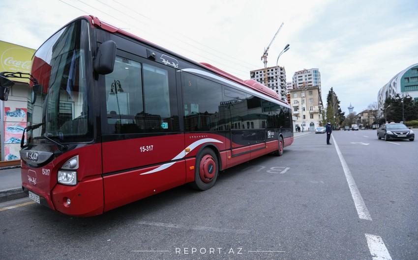 В Баку будет изменено движение общественного транспорта по ряду направлений