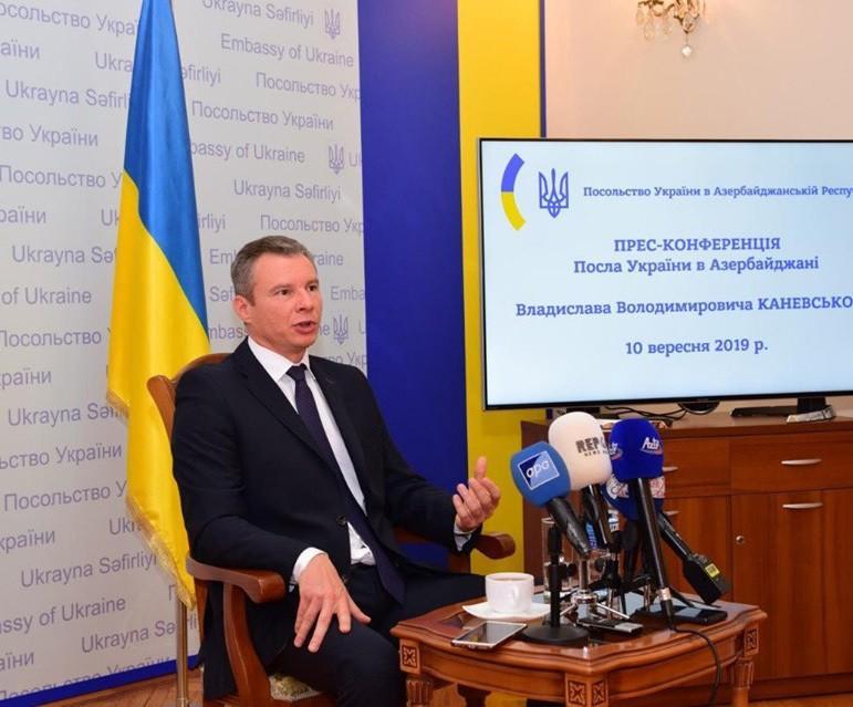 Səfir: Ukrayna Cənub Qaz Dəhlizinə maraq göstərir