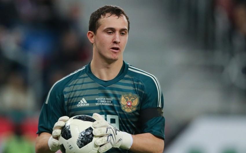Rusiya milli komandasının əsas qapıçısı müəyyənləşib