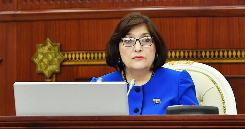 Milli Məclisin 53 deputatı Sahibə Qafarovaya müraciət edib