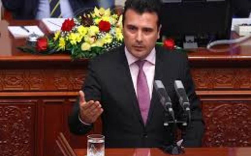 """Baş nazir: """"Makedoniyanın adını dəyişməyə hazırıq"""""""