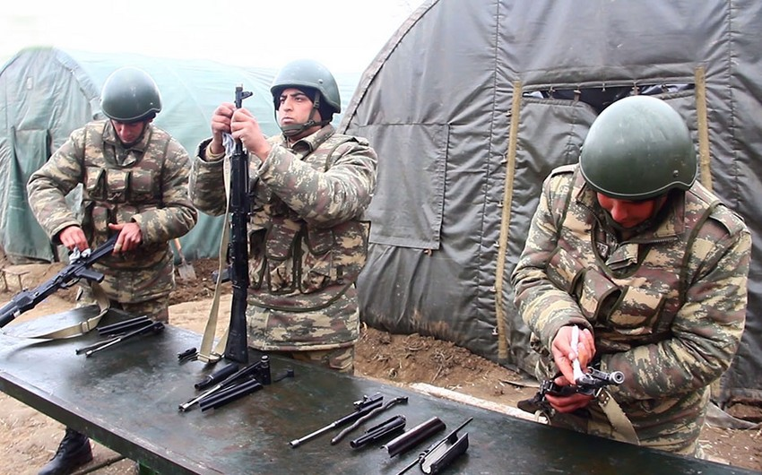 Activities to improve supply of Azerbaijani army units continue