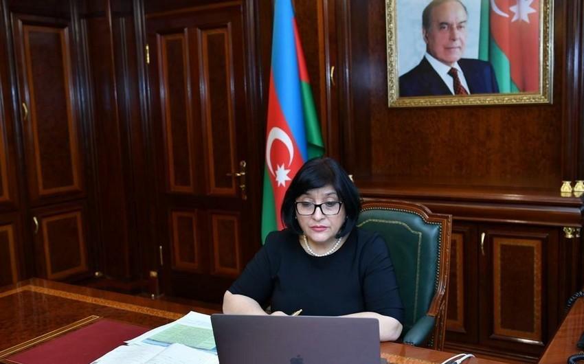 Milli Məclisin Sədri Valentina Matviyenkoya müraciət ünvanlayıb