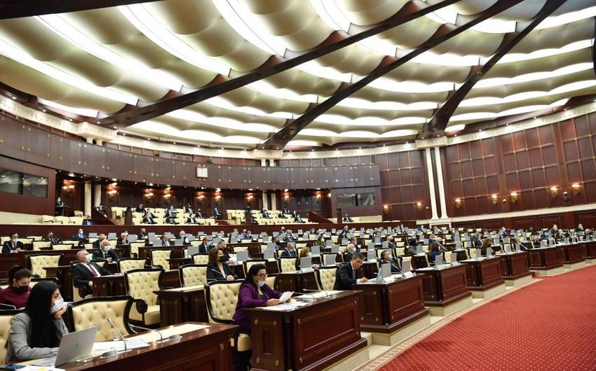 Milli Məclisin növbəti plenar iclasının vaxtı açıqlanıb