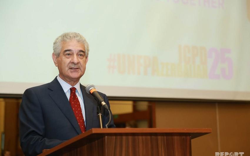 Али Ахмедов: Мы высоко оцениваем деятельность Фонда народонаселения ООН в Азербайджане