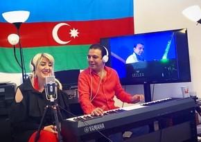 Эмиль Афрасиаб и Лейла Бабаева выступили с виртуальной концертной программой
