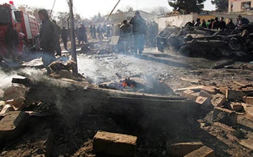 Kabildə NATO-nun hərbi karvanı yaxınlığında partlayış olub, 2 nəfər ölüb