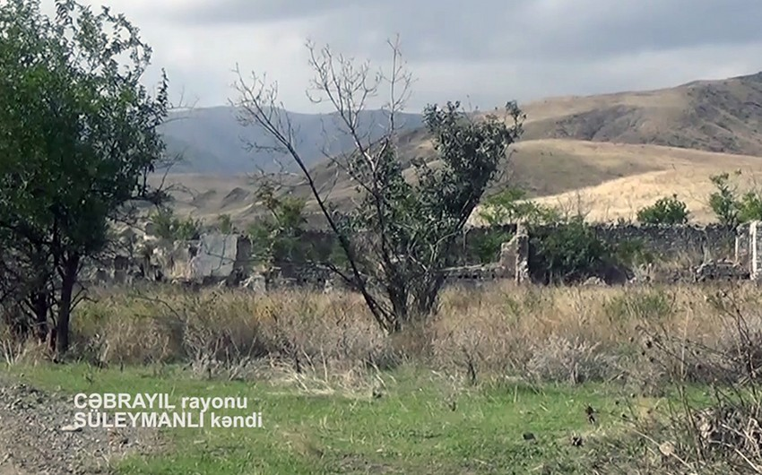 Footage of another village liberated from occupation