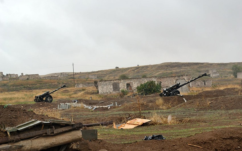 Azərbaycan Ordusu düşmənin xeyli sayda silah-sursatını ələ keçirib