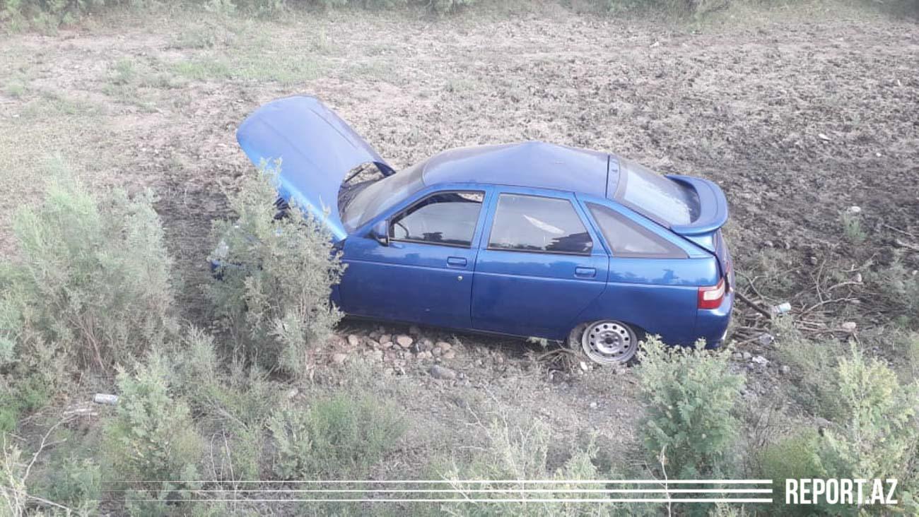 Kürdəmirdə avtomobil traktorla toqquşub, bir nəfər yaralanıb - YENİLƏNİB