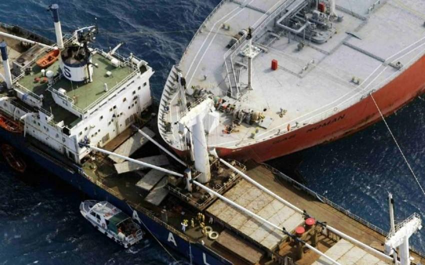 Сənubi Koreyada balıqçı gəmisi yük gəmisi ilə toqquşub: ölənlər var