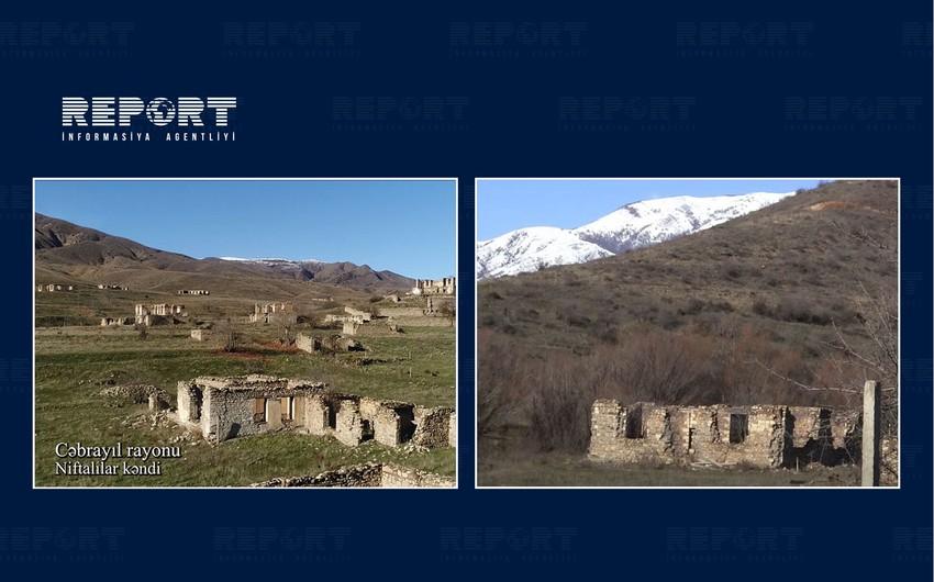Footage of Niftalilar village of Jabrayil