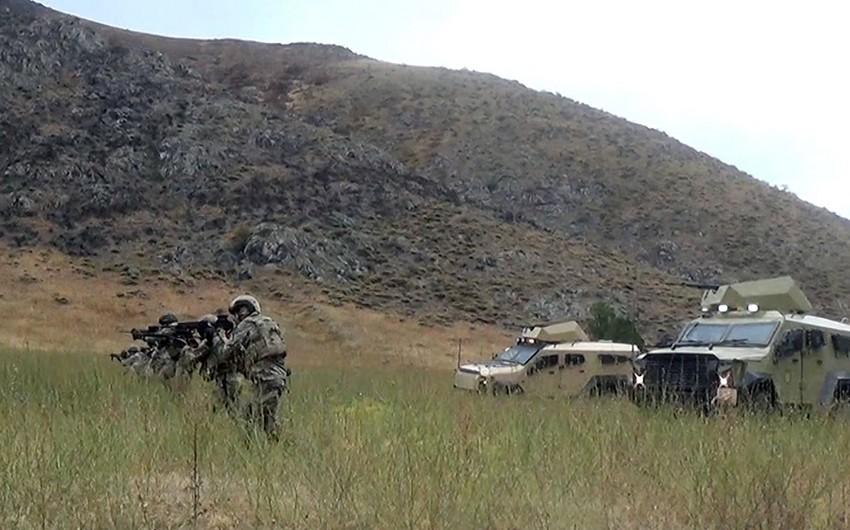 Azərbaycan və Türkiyə xüsusi təyinatlıları Laçında düşmənə yaxınlaşma tapşırığını icra ediblər
