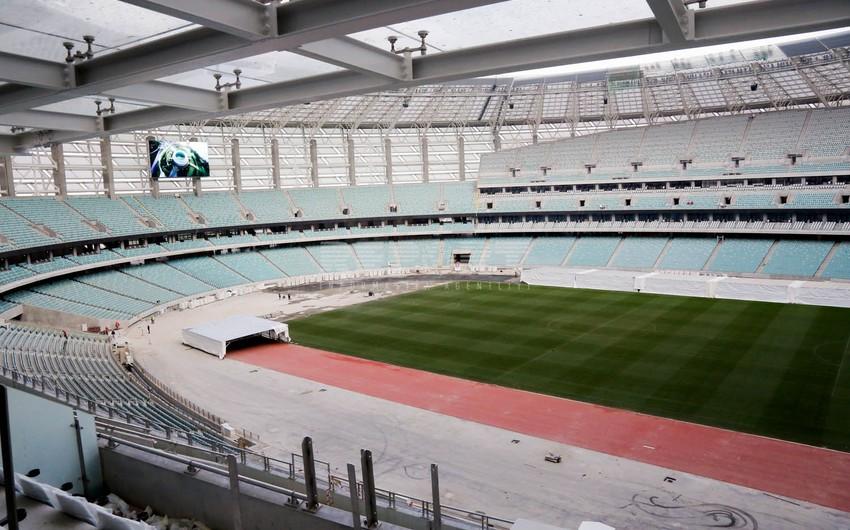 Bakı Olimpiya Stadionu 95 faiz hazırdır - REPORTAJ