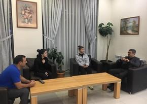 Cüdo Federasiyasının vitse-prezidenti idmançılarla görüşdü