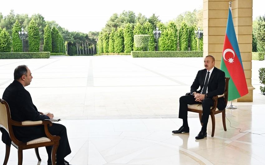 Ильхам Алиев: Поражение, которое мы нанесли Армении на поле боя, должно быть серьезным сигналом