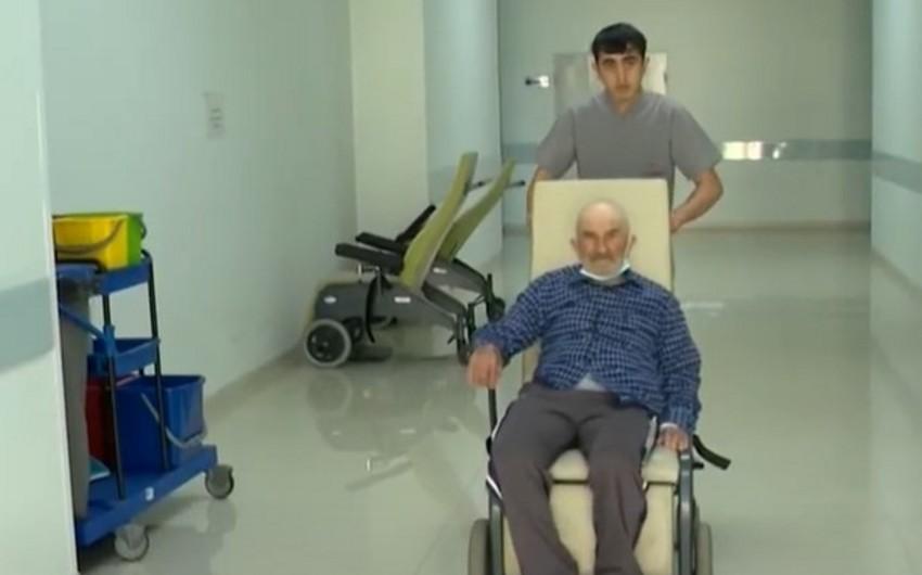 Gürcüstandan olan 100 yaşlı müharibə veteranı Bakıda uğurla əməliyyat olunub