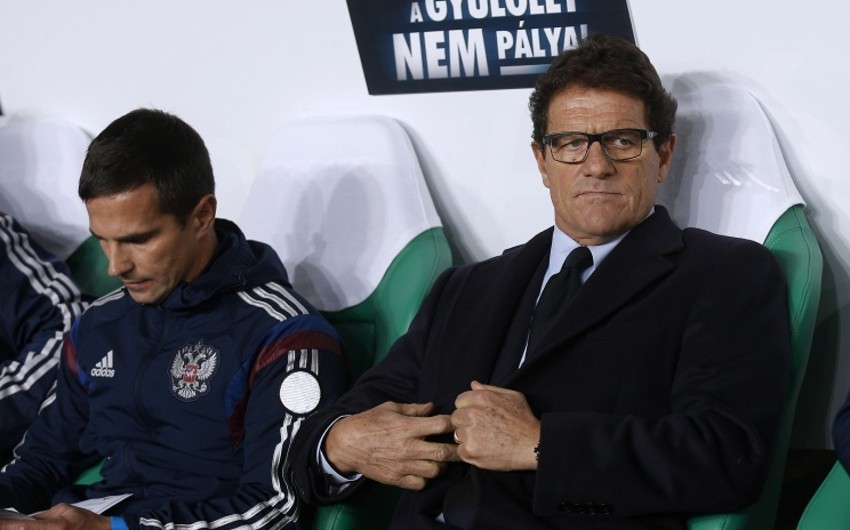 Russian Football Federation pays for Fabio Capello
