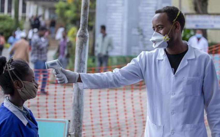 Afrikada koronavirusun qeydə alındığı ölkələrin sayı artır