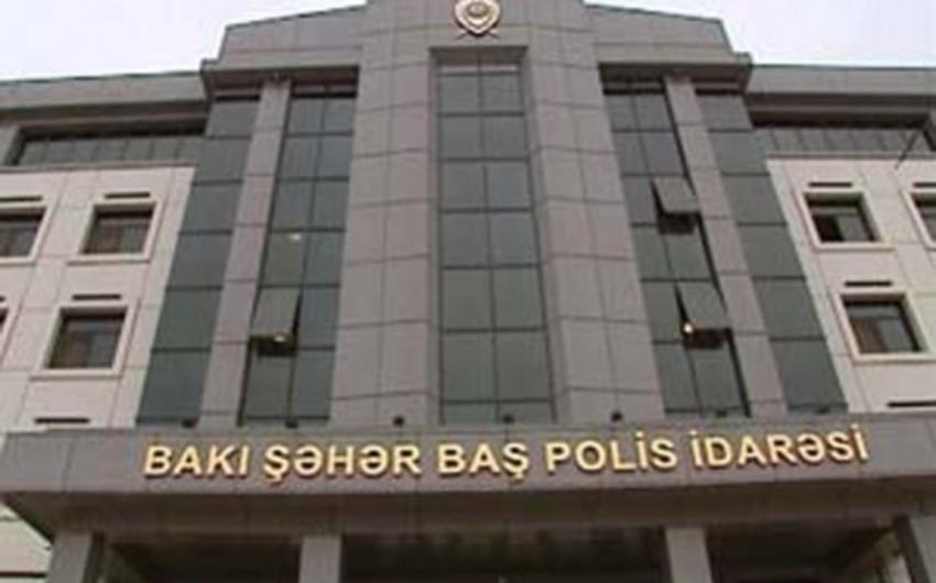 Bakı Şəhər Baş Polis İdarəsində yeni kadr təyinatı olub