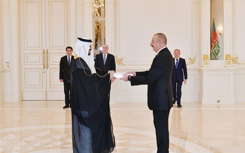 Президент Азербайджана принял верительные грамоты новоназначенного посла Саудовской Аравии - ОБНОВЛЕНО