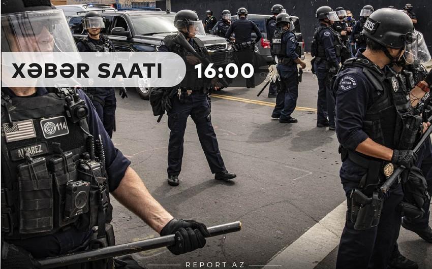 """""""Xəbər Saatı"""": Amerika polisi bu dəfə qaradərili velosipedçini güllələdi"""