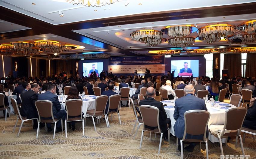 Bakıda III Beynəlxalq Bankçılıq Forumu keçirilir - VİDEO