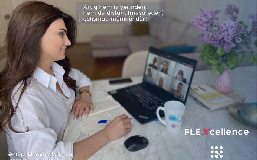 For the first time in Azerbaijan - a large staff remote work program is launched