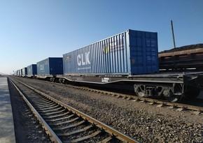 China sends new freight train to Azerbaijan