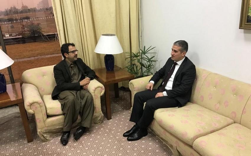 Azərbaycan səfiri Pakistan Milli Assambleyasının Xarici Əlaqələr Komitəsinin sədri ilə görüşüb