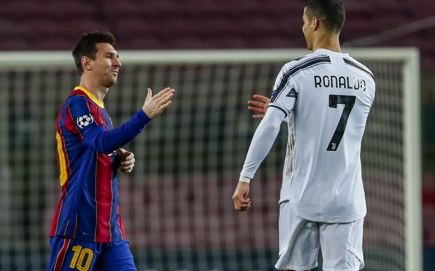 PSJ-dən Messi və Ronaldu açıqlaması
