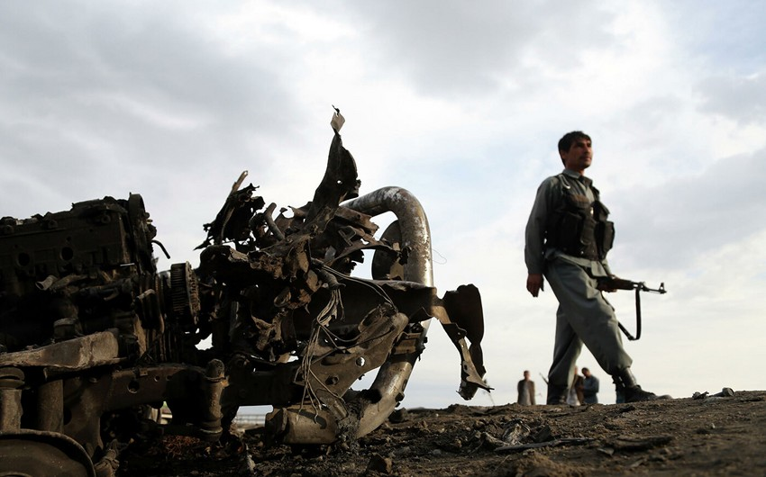 12 killed in airstrike on Afghan mosque