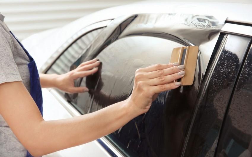 В Азербайджане могут отменить запрет на пленки для автомобилей