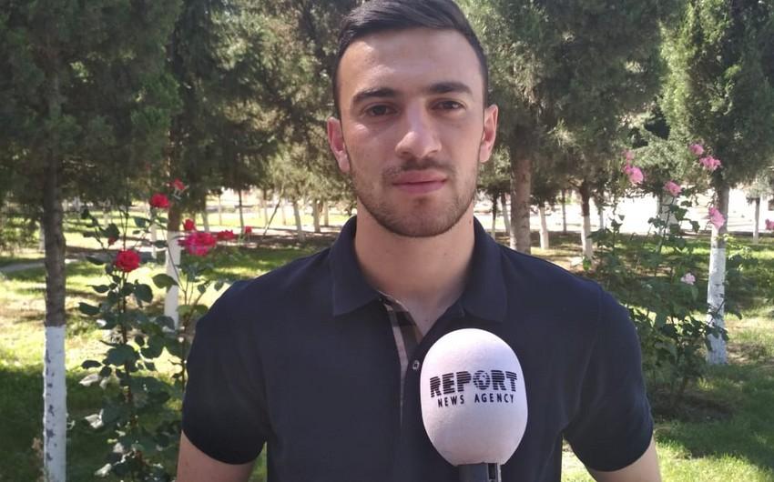 Футболист Карабаха: Мы готовы встать плечом к плечу с нашими солдатами