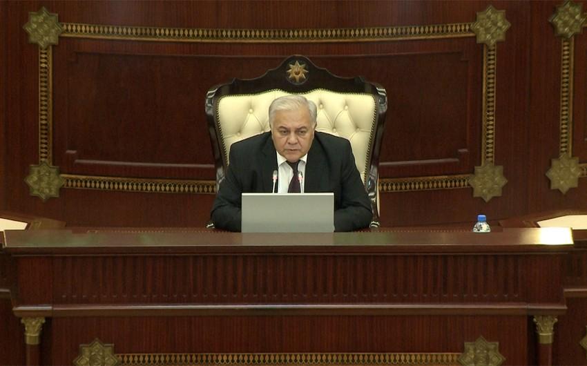 Спикер парламента: Я поддержал предложение о роспуске Милли Меджлиса
