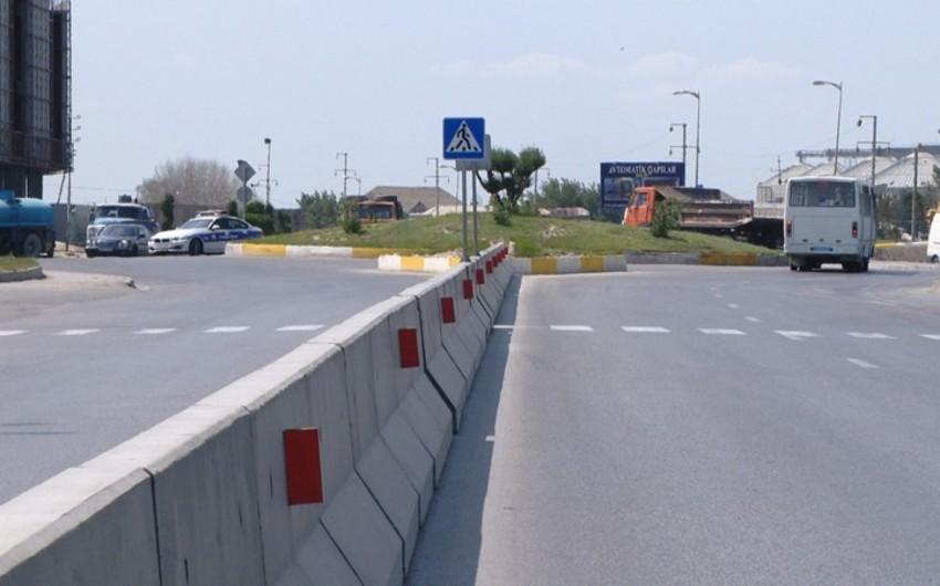 Bakı-Şamaxı-Yevlax avtomobil yolunda hərəkət iştirakçılarının fasiləsiz və təhlükəsiz hərəkəti təmin olunub - VİDEO