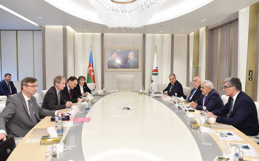 SOCAR and Total discuss prospects for future cooperation