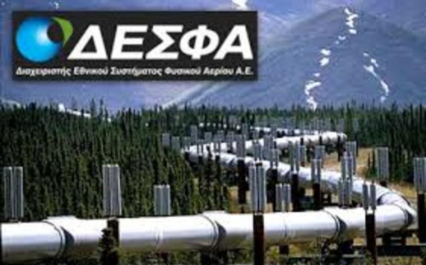 Yunanıstan DESFA-nın SOCAR-a satışı razılaşmasının təsdiqi prosesinin sürətlənməsini istəyir