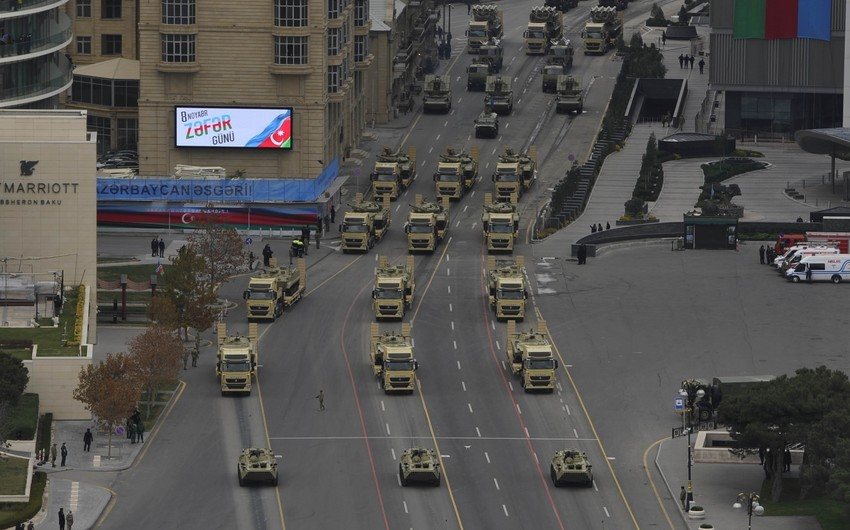 Azərbaycan Ordusunun müasir hərbi texnika və silah-sursatla təchizatı prioritet xərc istiqamətlərindən birini təşkil edəcək