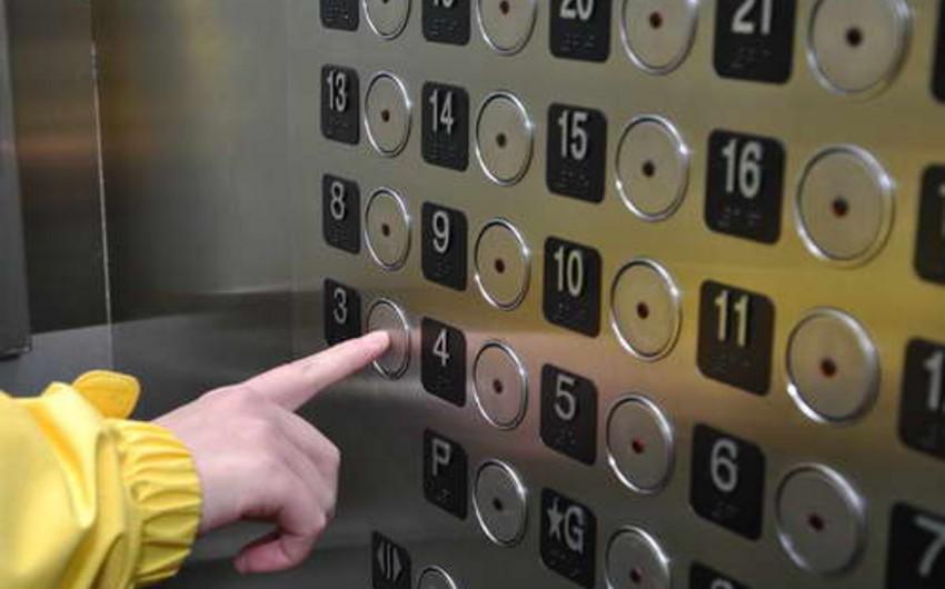 FHN-in xilasetmə qüvvələri liftdə köməksiz qalan 5 nəfəri xilas edib