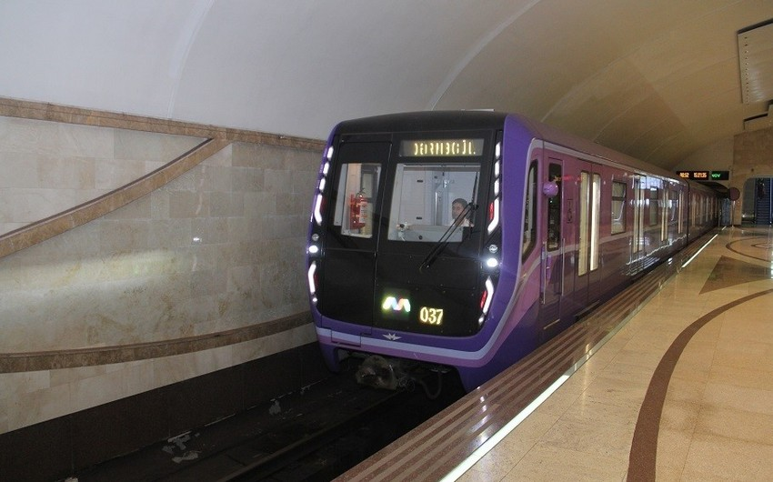 Бакинский метрополитен меняет график движения поездов