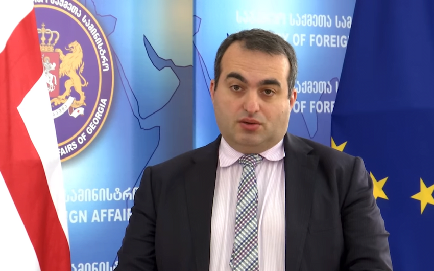 """Nazir müavini: """"Gürcüstan ərazisi ilə hərbi yüklərin tranzitinəyol verməyəcək"""""""