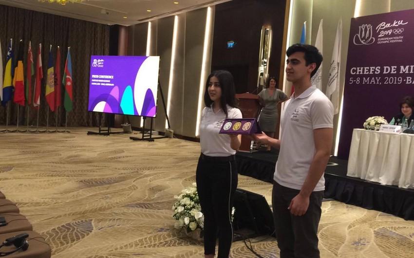 Bakı 2019 XV Avropa Gənclər Yay Olimpiya Festivalının medalları nümayiş olunub