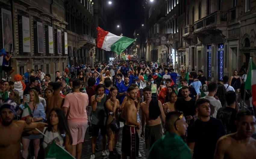İtaliya millisinin çempionluğu azarkeşin ölümünə səbəb oldu