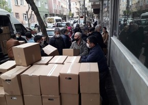 Госкомитет оказал помощь азербайджанским семьям в Стамбуле